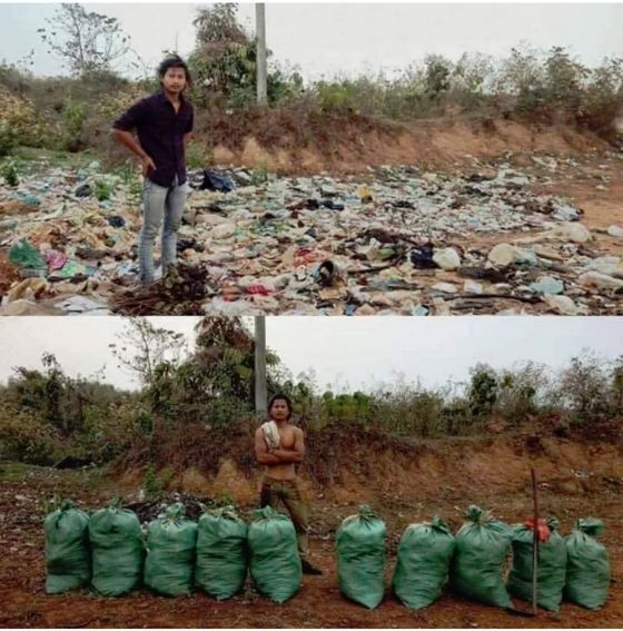 Trash-Collecting Viral Eco Initiatives