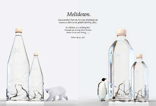 Eco Message in a Bottle