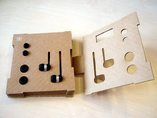 Eco Earphone Packaging