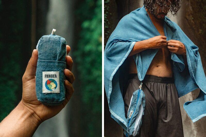 Carbon-Negative Adventure Towels