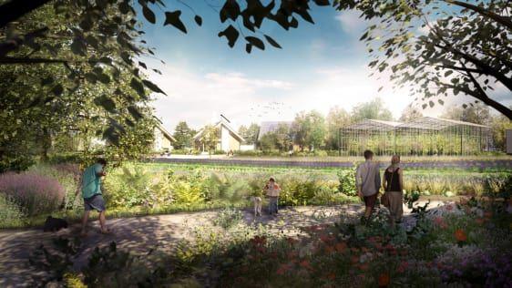 High-Tech Eco Villages
