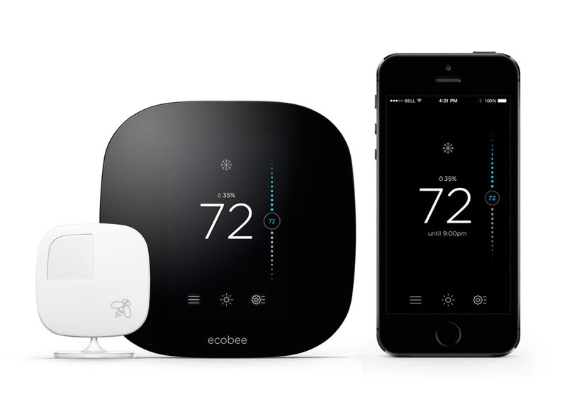 Sleek Thermostat Tech