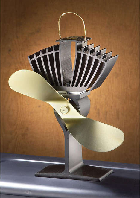 Heat-Powered Air Circulators