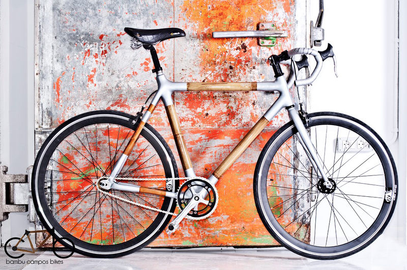 Eco-Friendly Bamboo Bikes