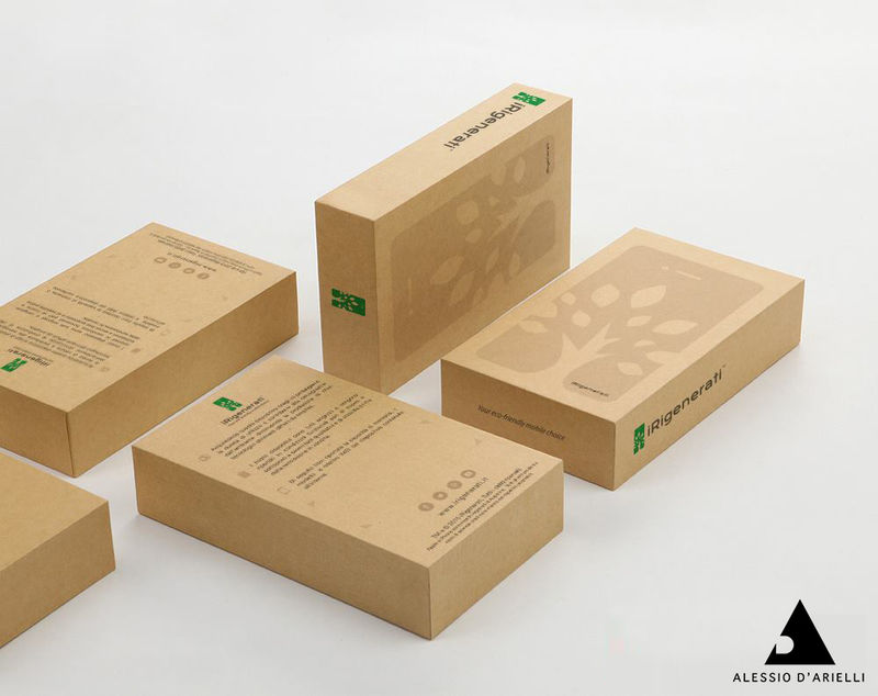 Sustainable Smartphone Packaging