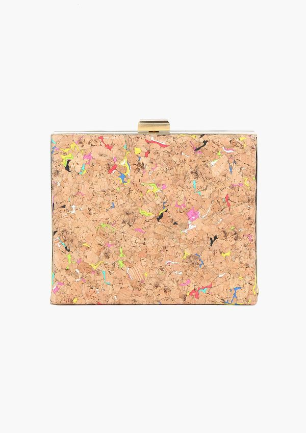 Candy-Colored Cork Clutches