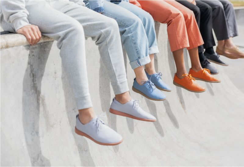 Casual Eco-Friendly Shoe Silhouettes
