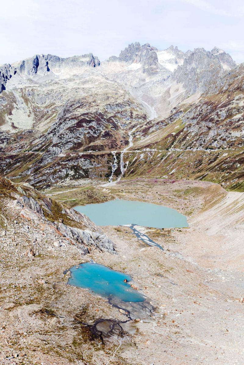 Scanned Glacier Installations