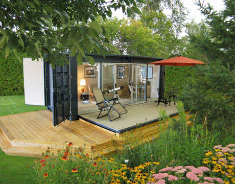 Container-Made Eco Abodes