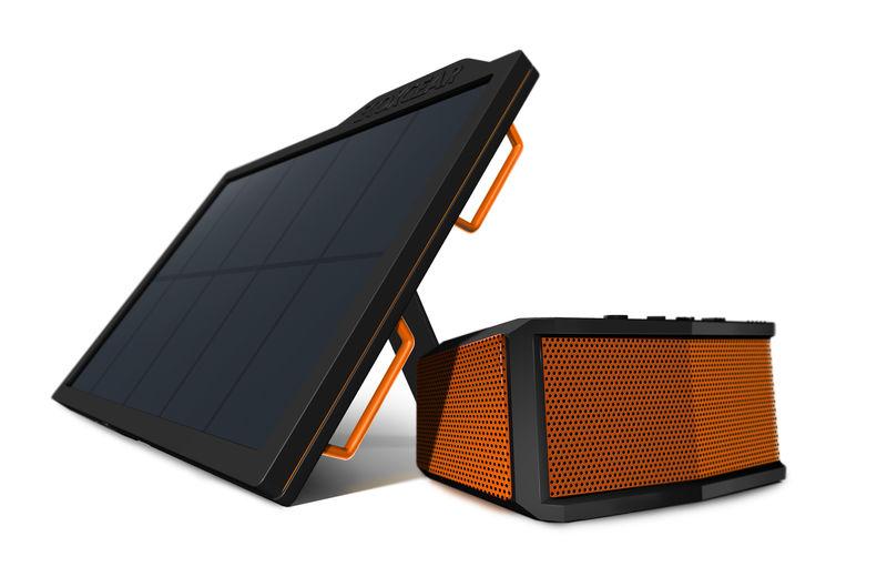 Solar-Powered Outdoor Speakers