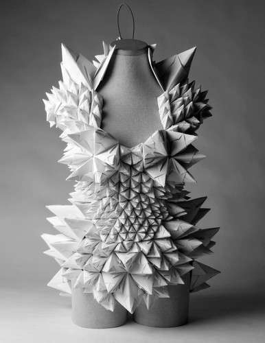Origami-Inspired Carnival Costumes