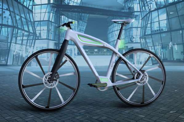Sleek Reimagined E-Bikes