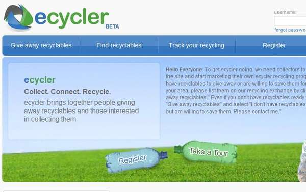 Virtual Recycling Communities