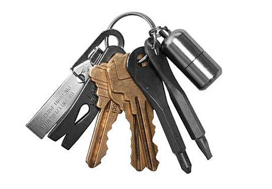 Lifestyle Survival Keychains