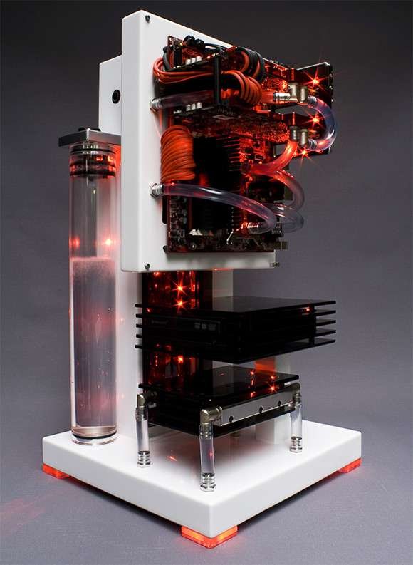 Artistic Pcs The Edelweiss Pc Uses A Water Cooling System
