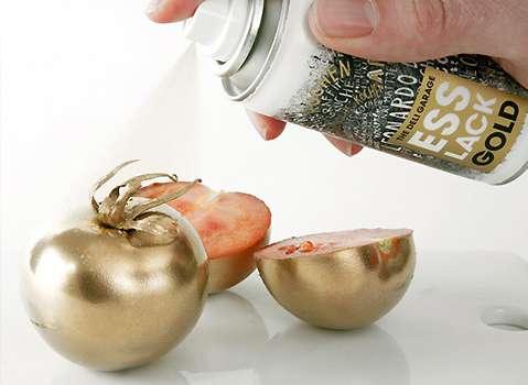Shiny Metallic Foods