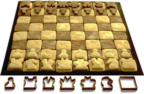Edible Chess Sets