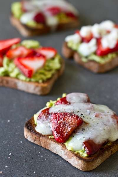 Fruit-Filled Veggie Sandwiches