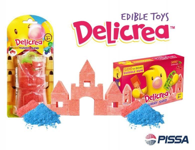 Edible Sand Toys