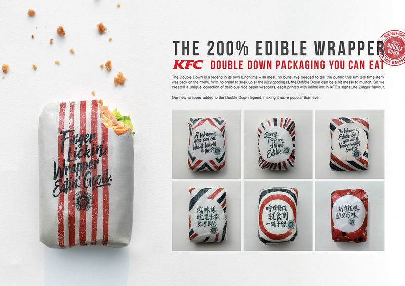 Edible Sandwich Wrappers : edible wrapper