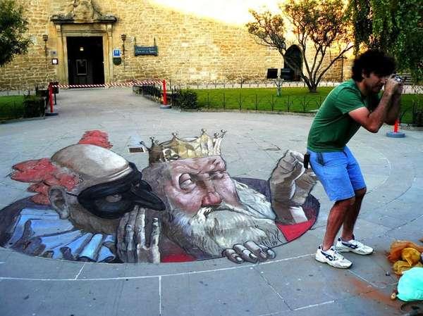 3D Street Drawings