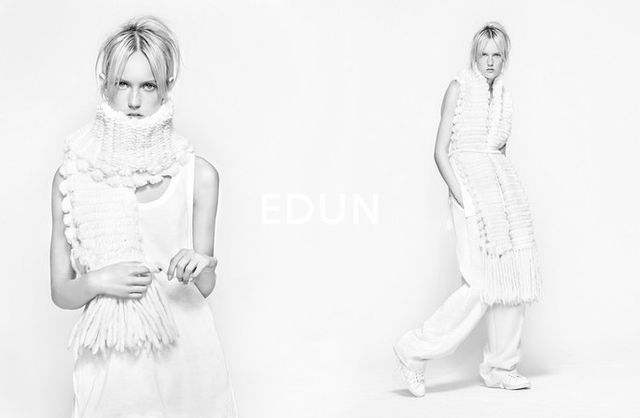 Muted Monochromatic Fashion Campaigns