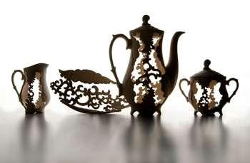 Cut-Out Tea Sets
