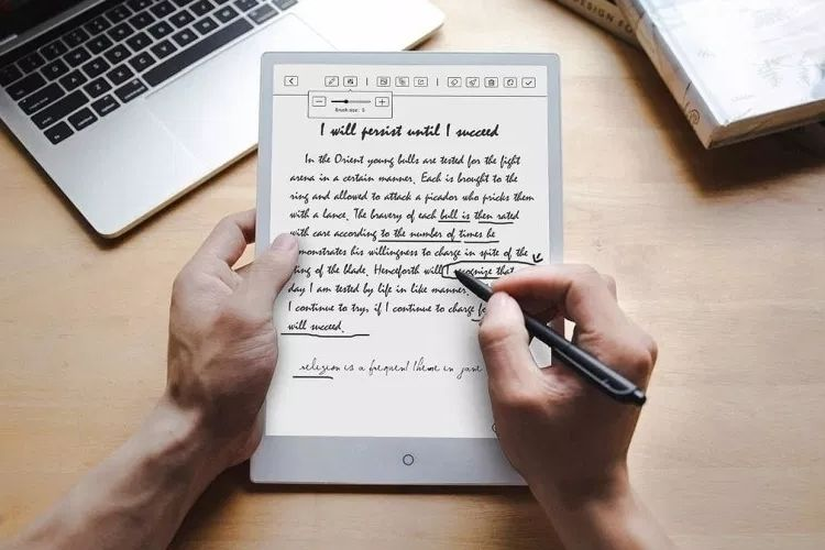 Android-Powered E-Ink Tablets