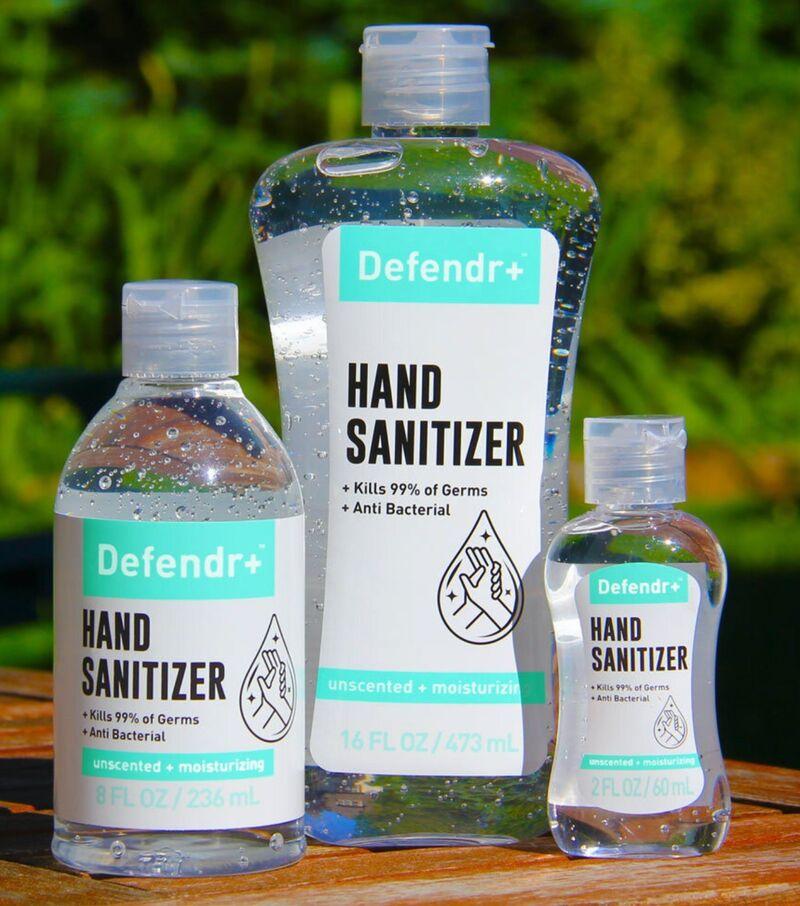 Four-Ingredient Hand Sanitizers