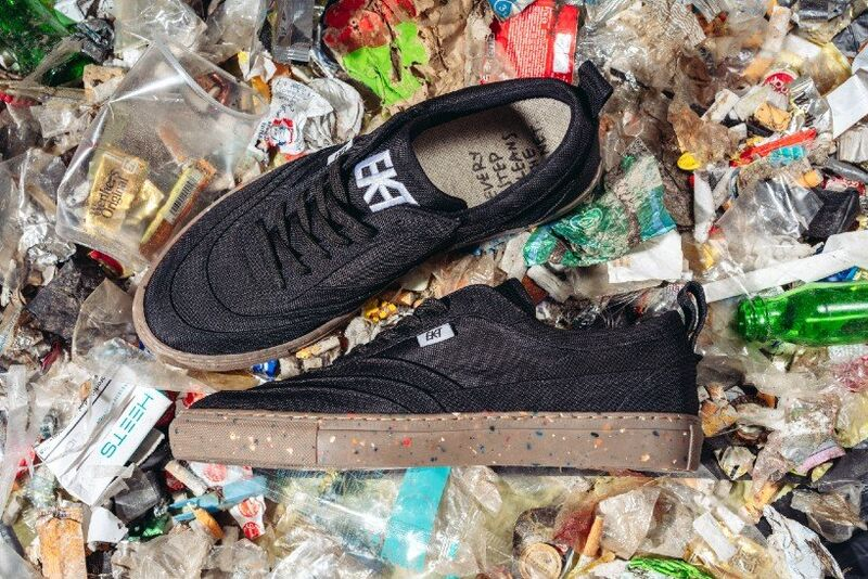Recycled Waste-Made Sneakers