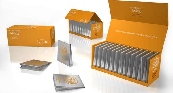 single serve branding   efficiency avene packaging