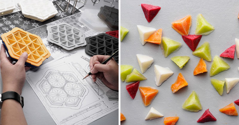 Efficient Ice Cube Trays
