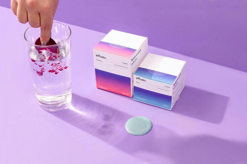 Dissolvable Drink Discs