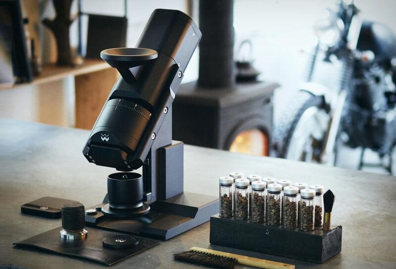 Sleek Scientific Coffee Grinders