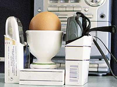 Cooking Eggs With Cell Phones