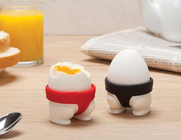 Wrestler Egg Holders