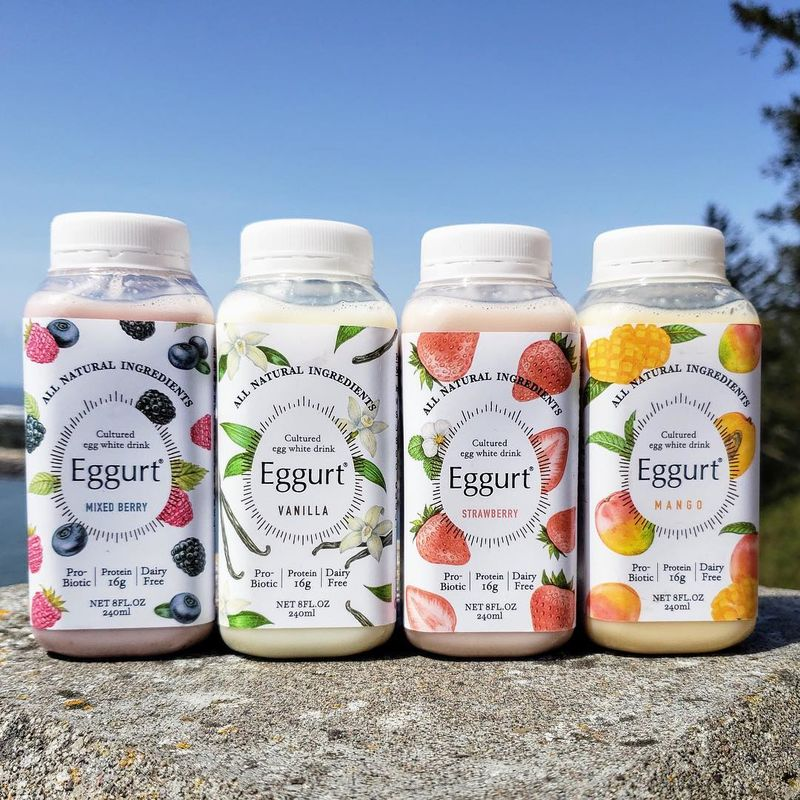 Probiotic Egg Drinks