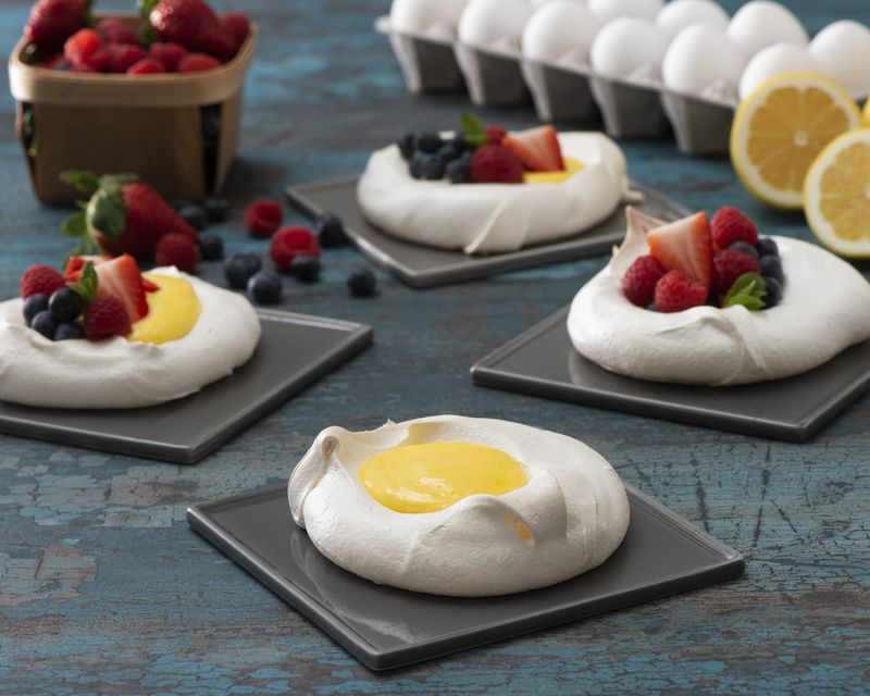 Festive Egg-Based Desserts