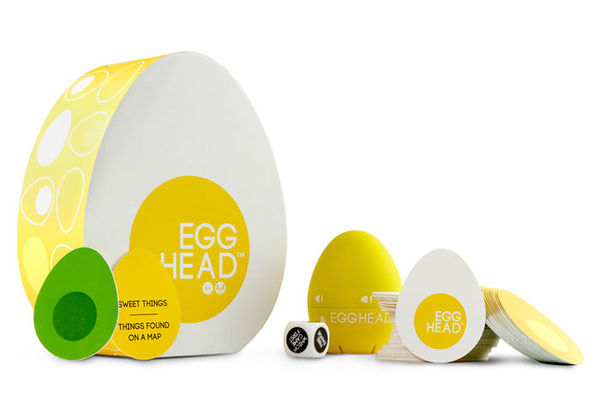Eggcentric Pastime Packaging