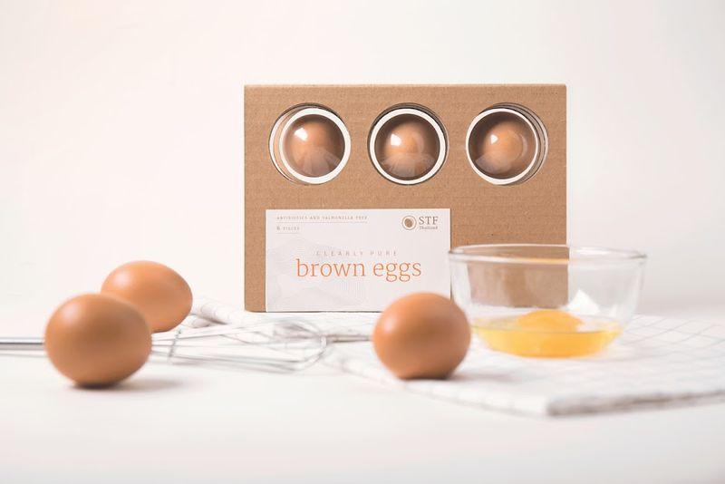 Hygiene-Focused Egg Packaging