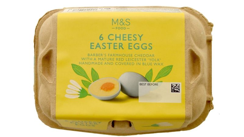 Cheese-Filled Easter Eggs