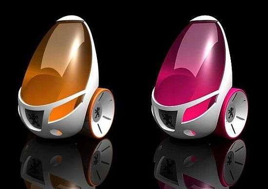 Egg-Shaped Eco Vehicles