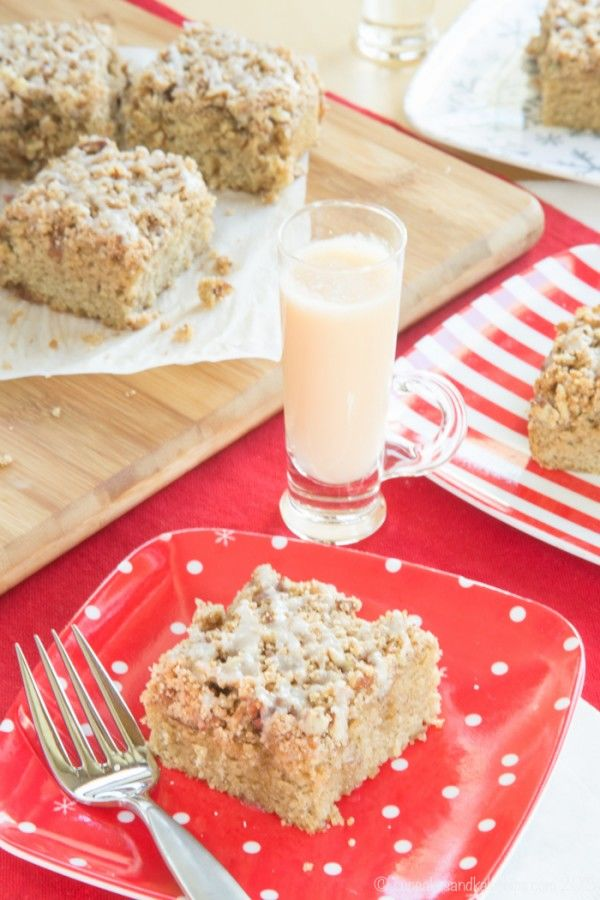 Gluten-Free Eggnog Cakes