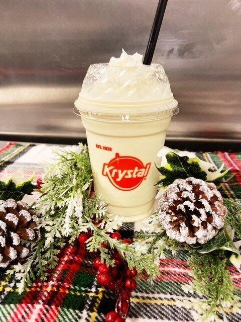 Festive Eggnog Milkshake Revivals
