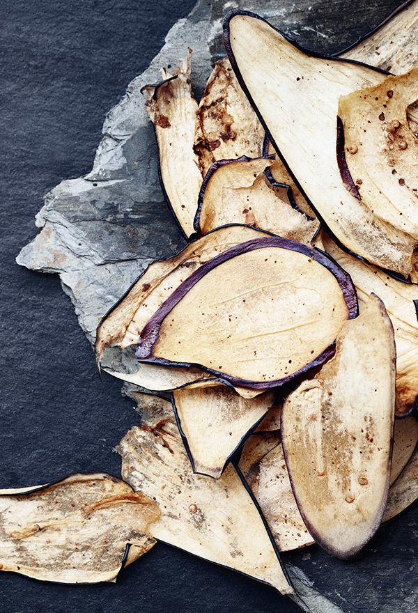 Eggplant Jerky Strips