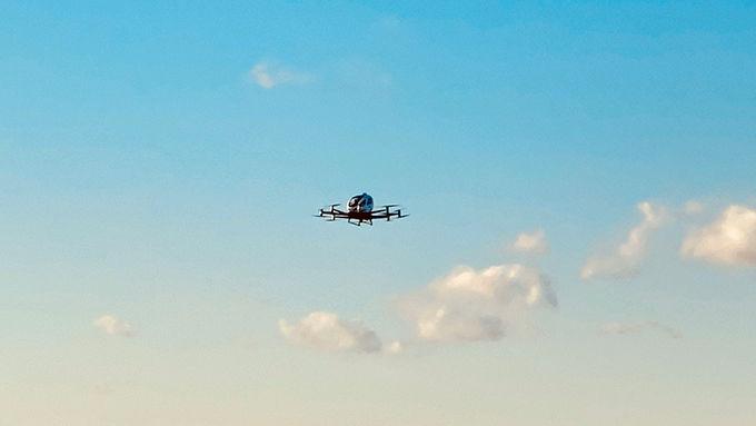 Autonomous Drone Demonstration Flights