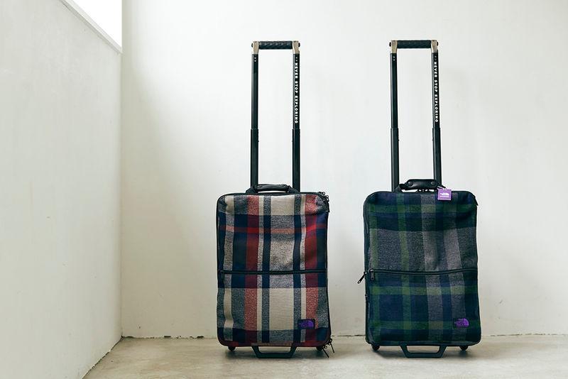 Director-Designed Wool Luggage