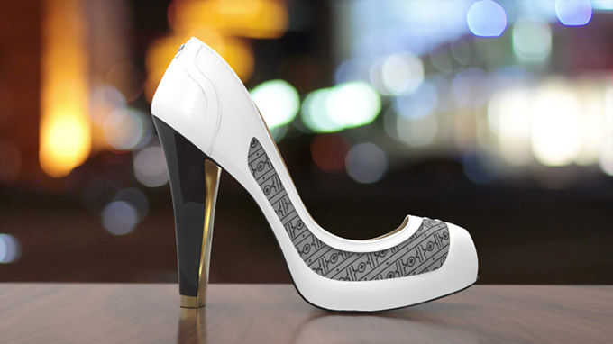 Digital Display Stilettos
