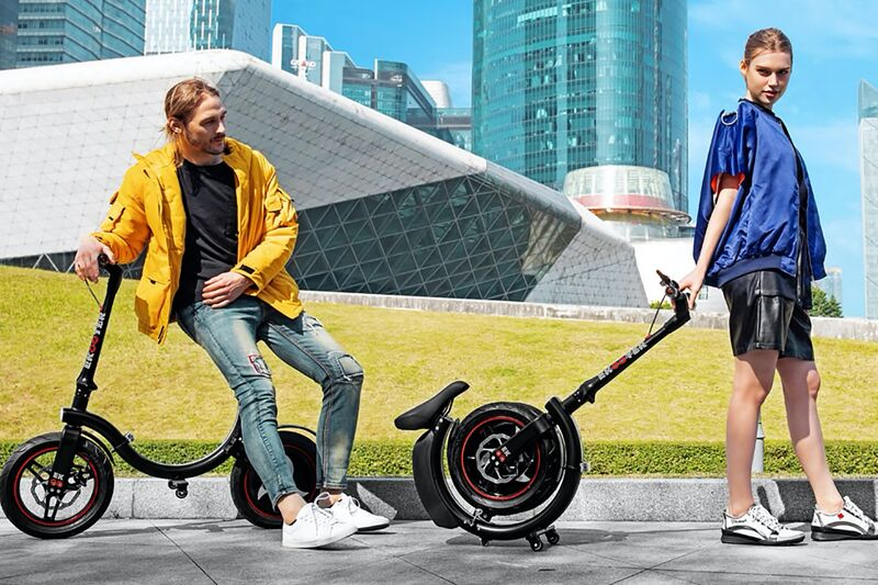 Rolling Ring Folding Scooters