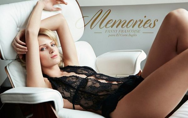 Bed-Lounging Lingerie Ads